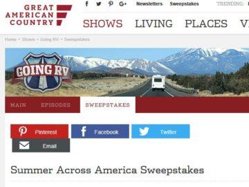 Summer Across America Sweepstakes