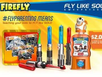 Firefly FLY LIKE SOLO Sweepstakes (Facebook)