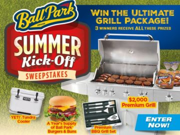 Ball Park Buns & Patties Summer Kick-Off Sweepstakes