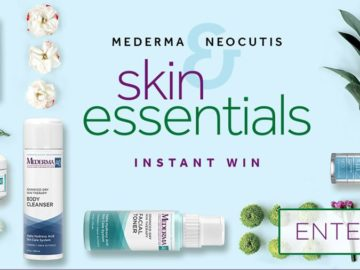 Mederma and Neocutis Skin Essentials Instant Win Game