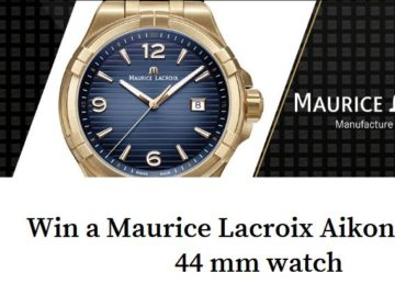 Win a Maurice Lacroix Aikon Bronze 44 mm Watch