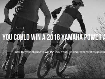 Yamaha Pick Your Passion Sweepstakes