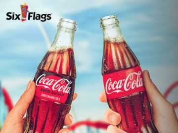 Coca-Cola Six Flags Single Day Ticket Instant Win Game