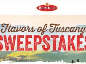 Bertolli Flavors of Tuscany Sweepstakes