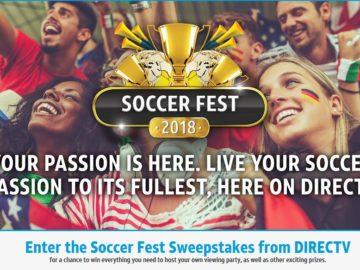DirecTV Soccerfest Sweepstakes