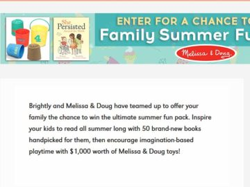 Win a $1,000 Melissa & Doug Gift Card and a Collection of Books