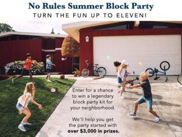 Gymboree's No Rules Summer Block Party Sweepstakes