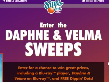 Dippin' Dots Daphne & Velma Sweepstakes