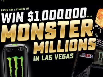 Monster Energy Chance to Win the Monster Million Sweepstakes