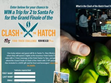 Clash of the Hatch Sweepstakes
