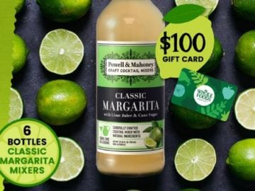 Win a $100 Whole Foods Market Gift Card