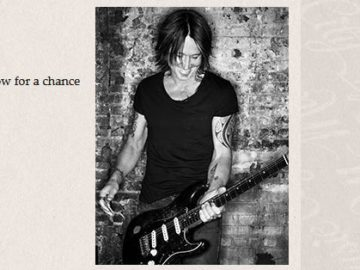 Nashville Music City Keith Urban Tour Sweepstakes