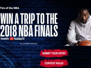 Kumho Tire 'The Road To the NBA FINALS' Sweepstakes