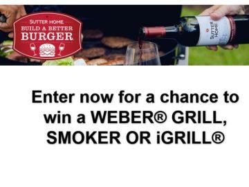 Win a Weber Spirit E-210 LP Gas Grill