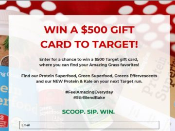 Target sweepstakes rules