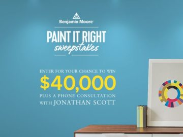 Win $40,000 Cash and a consult with Jonathan Scott