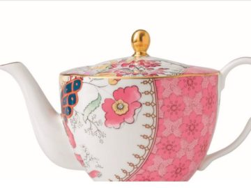 Win a GREAT Britain Wedgwood Butterfly Bloom Teapot