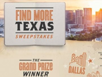 Travel Channel Find More Texas Sweepstakes