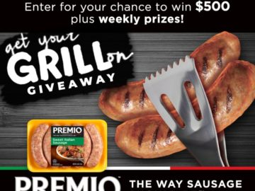 Win a $500 Gift Card and Premio Summer Swag Pack