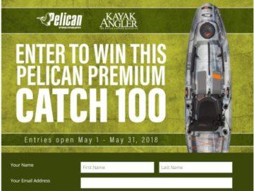 Pelican Premium Kayak Sweepstakes
