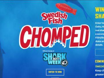 Shark Week Chomped Sweepstakes