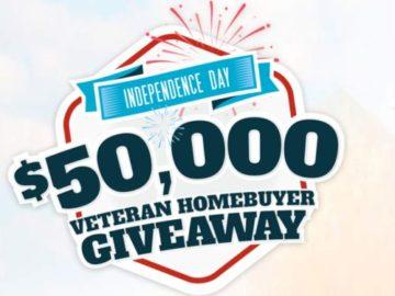 $50,000 Veteran Homebuyer Giveaway Sweepstakes