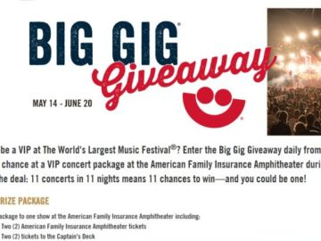 Big Gig Giveaway Sweepstakes (limited States)