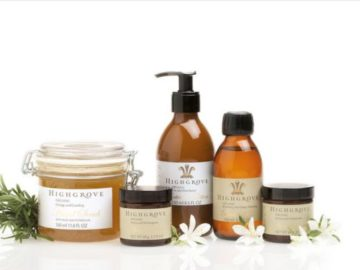 Win a Highgrove Gift Set from The Organic Pharmacy