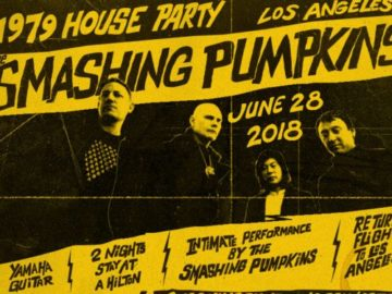 Smashing Pumpkins 1979 House Party Sweepstakes