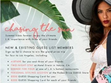 Chasing the Sun Sweepstakes