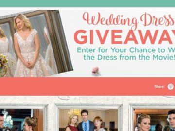 Hallmark Channel's June Weddings Wedding Dress Sweepstakes