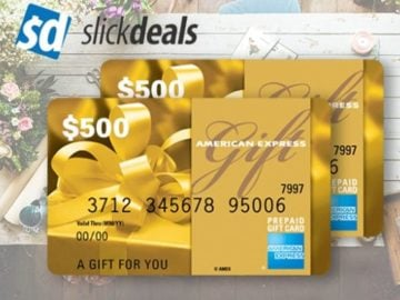 Win a $500 American Express Gift Card