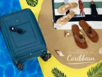 Delsey Luggage Countdown to the Caribbean Sweepstakes