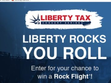 Liberty Rocks, You Roll Sweepstakes