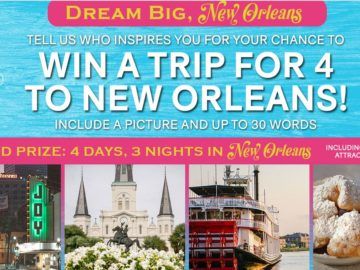 Dream Big, New Orleans Sweepstakes