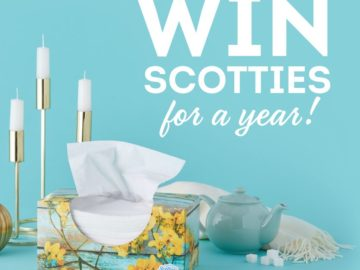 Win a Case of Scotties Facial Tissues
