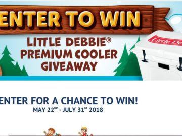 Camp Little Debbie Instant Win Game