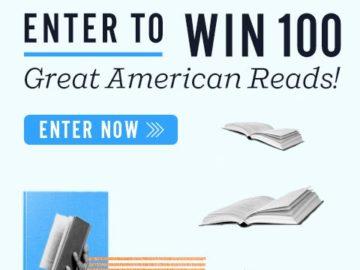 Win 100 Great American Books!