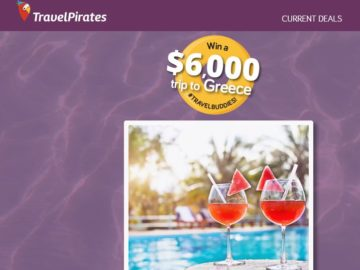 TravelPirates Greece Sweepstakes