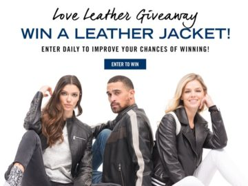 Win a Wilsons Leather Jacket
