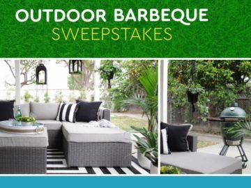 Win an Ashley Outdoor Patio Set and a XL Big Green Egg