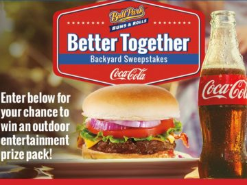 Ball Park Buns Coca-Cola Better Together Backyard Sweepstakes