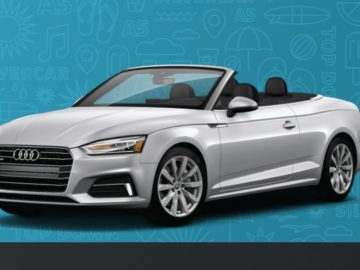 Win an Audi A5 Cabriolet 2.0T Quattro S tronic