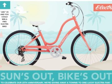 Win a Townie 7D Bicycle (Facebook)
