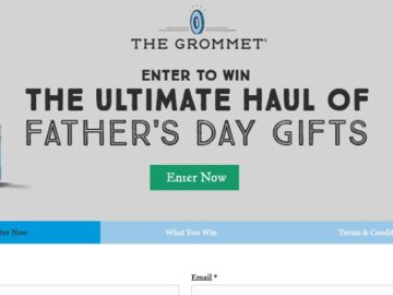 Win a Father's Day Prize Package