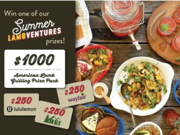 Win a $1,000 Target Gift Card and an American Lamb Grilling Prize Pack