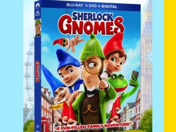 Sherlock Gnomes and Mrs. Fields Sweepstakes