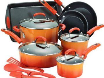 Win a 12-piece NonStick Rachel Ray Cookware Set