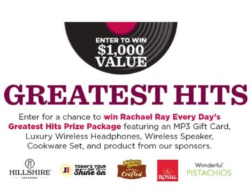 Rachel Ray Greatest Hits Sweepstakes
