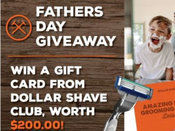 Win a $200 Dollar Shave Club Gift Card!